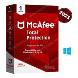 Mcafee Total Protection - Licencia Por 2 Años 1 Pc