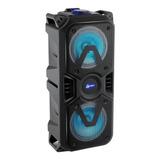 Alto-falante Lenoxx Ca400 Portátil Com Bluetooth Preto 110v/220v