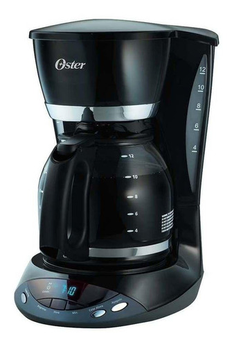 Cafetera Oster Bvstdcdwx20 Automática Negra De Goteo 110v