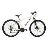 Mountain Bike Slp 5 Pro R29 18  21v Frenos De Disco Mecánico Cambios Slp Color Blanco