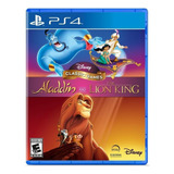 Disney Classic Games: Aladdin And The Lion King Nighthawk Interactive Ps4 Físico