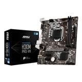 Motherboard Msi H310m Pro Vh 8va Gen Intel 1151 H310 3