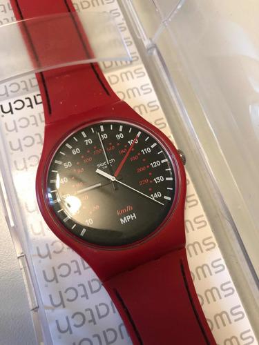 Swatch Brake Suor 104 Rojo/silicona