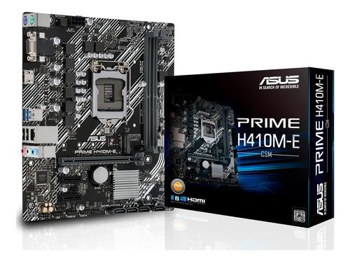 Motherboard Asus Prime H410m-e Ddr4 Intel 10ma Gen Lga 1200