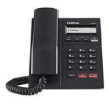 Telefone Intelbras Ip Tip 125i  Display Viva-voz Preto Nf