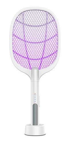2 En 1 Matamoscas Eléctrico Y Lámpara De Mosquitos 3000 V De