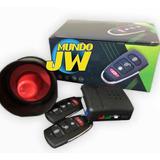 Alarma Para Auto 2 Controles Sirena Fuerte Sensor De Golpe