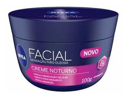 Creme Facial Nivea Anti-idade Noturno 100g