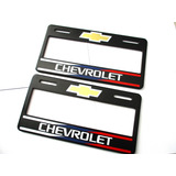 Portaplacas Beat Chevrolet Spark Caviel Trax Aveo 2pz