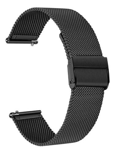 Correa De Acero Inoxidable De Metal Para Reloj Huawei Gt2
