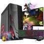 Pc Gamer Completo Intel 8gb Hd 500gb R5 230 2gb Wifi Hdmi Win10 C/ Monitor Original