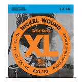 Encordado/set De Cuerdas Guitarra Electrica Daddario Exl-110
