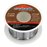 Rollo De Estaño Para Soldar Welsolo 0.3mm Electrónica Envíos