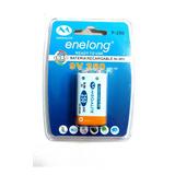 Bateria 9v Recargable Enelong 250mah Microfono Tester Contr
