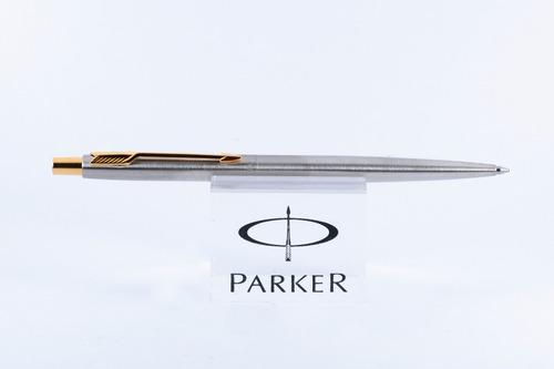 Boligrafo Parker Original Classic Gt Plateado Clip Dorado