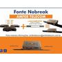 Fonte Nobreak 24v-8a Fx250 Com Suporte Móvel  Rack 19  1u Original