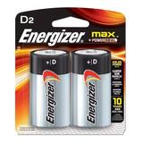 Pila Alcalina Energizer D Grande X 2 En Blister