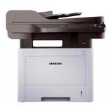 Impresora Multifunción Samsung Proxpress Sl-m4072fd Con Wifi Blanca Y Negra 110v
