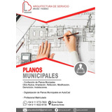 Planos Municipales, Planos De Proyectos