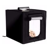 Estudio Set Fotográfico Caja Luz Softbox Portátil 40cmx40cm