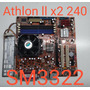 Placa Mãe Itautec Sm3322 - Am2 + Athlon Ll X2 240 + Cooler Original