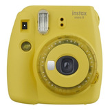 Cámara Análoga Instantánea Fujifilm Instax Mini 9 Clear Yellow