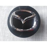 Tapa Emblema Logo De Aro Original Nueva Mazda