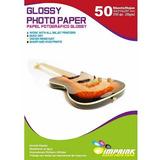Papel Foto Glossy Brillante A4 230g/50 Hojas