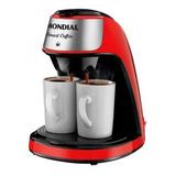 Cafeteira Mondial Smart Coffee C-42-2x Semi Automática Vermelha De Filtro 127v