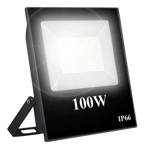 Reflector Led 100w Exterior Alta Potencia Multiled Ip66 Frio