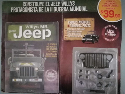 Jeep Willys Mb Salvat Faciculos Completos