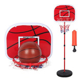 Tablero Aro Basketball + Base + Red+ Pelota +inflador El Rey