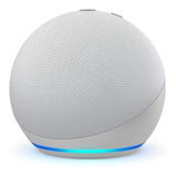 Amazon Echo Dot 4th Gen Con Asistente Virtual Alexa Glacier White 110v/240v