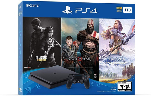 Playstation 4 Slim 1 Tera Ps4 Slim Megapack + Juegos