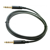 Cable Plug Trs / Plug Trs Balanceado Para Home Studio 1.5m