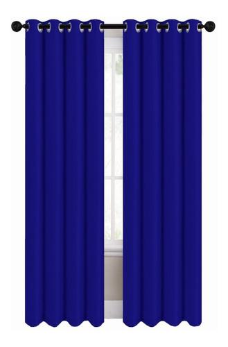 Cortinas Blackout 274cm Ancho X 213cm De Largo En 2 Paneles