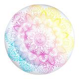 Salvavidas Inflable Circular Mandala De Colores Para Alberca