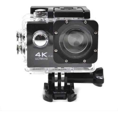 Cámara Wifi 4k + Control Selfie Sumergible 30mt Sport Cam