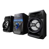 Minicomponente Philco Sap500 Negro 75w Con Bluetooth 220v
