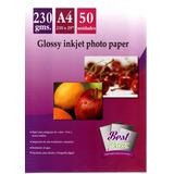 Papel Fotográfico Brillante Glossy A4 230 Gr 50 Hojas