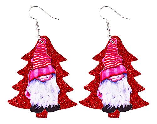 Pendientes Navidad Cuero Ligeros Árbol Navidad Sh