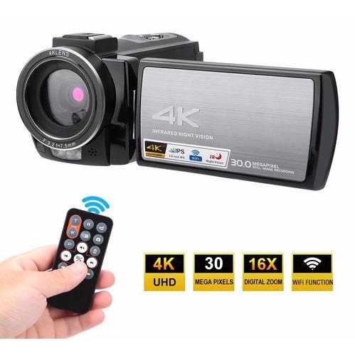 Videocámara Digital Hdv-ae8 Cámara 4k 1080p 60fps 48mp Wifi