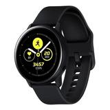 Samsung Galaxy Watch Active2 (lte) 1.4  Com Rede Móvel Caixa 44mm De  Aço Inoxidável  Black Sm-r825f