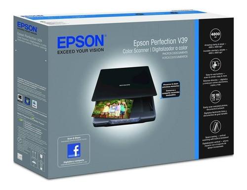 Escáner Compacto Profesional Epson Perfection V39