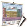 Mapa Tabela Periodica 118 El Quimico Laminado Banner Moldura Original