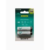 Pilas Recargables Sony Aa 2500 Mah Blister 2 Unidades