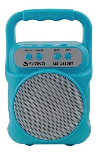 Parlante Portatil Bluetooth Inalambrico Fm Micro Sd Usb Suo