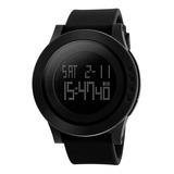 Reloj Mujer Skmei 1142 Cronómetro Alarma Luz Cuenta Regresiva Sumergible