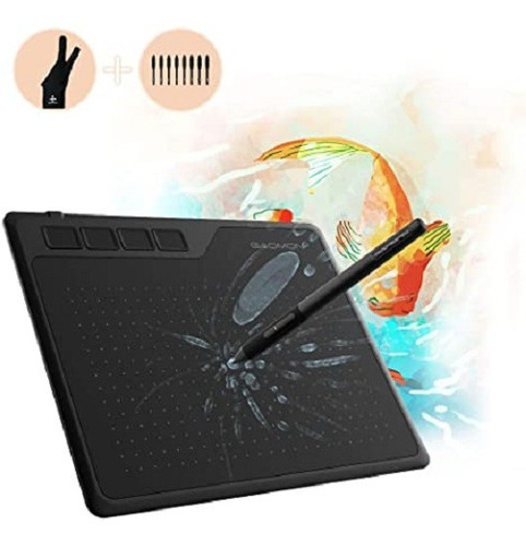 Tableta Digital Con Bolígrafo Gaomon S620 De 6,5x4 Pulgadas