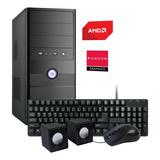 Torre Pc Computadora Nueva Amd Dual Core 8gb 1tb Wifi Hdmi